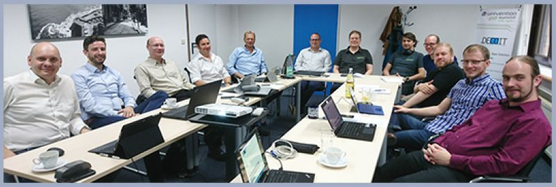 INTEGER-Konsortium beim Kick-off-Meeting